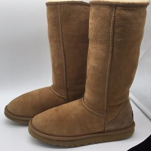 UGG Classic Tall Genuine Shearling Lined Boots